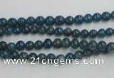CAP201 15.5 inches 4mm round natural apatite gemstone beads