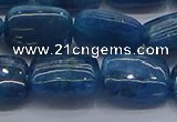 CAP386 15.5 inches 10*14mm rectangle apatite gemstone beads