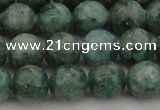 CAP501 15.5 inches 8mm round natual green apatite beads