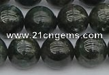 CAP514 15.5 inches 12mm round green apatite gemstone beads