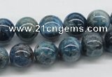 CAP55 15.5 inches 12mm round dyed apatite gemstone beads wholesale