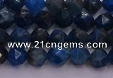 CAP561 15.5 inches 6mm faceted nuggets apatite gemstone beads