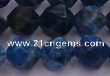 CAP564 15.5 inches 12mm faceted nuggets apatite gemstone beads
