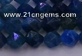 CAP571 15.5 inches 6mm faceted nuggets apatite gemstone beads