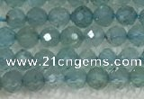 CAP620 15.5 inches 2mm faceted round tiny apatite gemstone beads