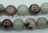 CAR05 15.5 inches 12mm round artistic jasper beads wholesale