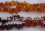 CAR202 24 inches 3*6mm natural amber chips beads wholesale