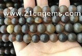 CAR221 15.5 inches 11mm round natural amber beads wholesale