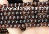 CAR229 15.5 inches 6mm round natural amber beads wholesale