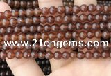 CAR231 15.5 inches 5mm - 5.5mm round natural amber beads wholesale