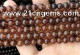 CAR232 15.5 inches 6mm - 7mm round natural amber beads wholesale