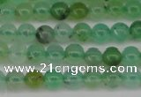 CAU350 15.5 inches 4mm round Australia chrysoprase beads