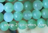 CAU366 15.5 inches 6mm round Australia chrysoprase beads
