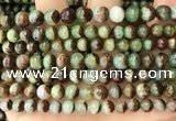 CAU452 15.5 inches 6mm - 6.5mm round Australia chrysoprase beads