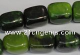 CAU60 15.5 inches 12*16mm nuggets Australia chrysoprase beads
