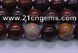 CBD303 15.5 inches 10mm round brecciated jasper beads wholesale