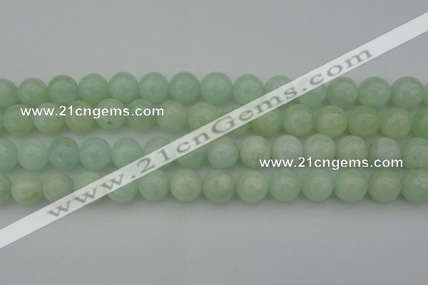 CBE06 15.5 inches 14mm round beryl gemstone beads wholesale
