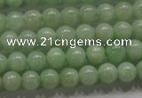 CBJ307 15.5 inches 4mm round A grade natural jade beads