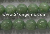 CBJ329 15.5 inches 12mm round AA grade natural jade beads