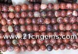 CBJ390 15.5 inches 6mm round brecciated jasper beads wholesale