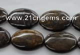 CBZ307 15.5 inches 18*25mm oval bronzite gemstone beads wholesale