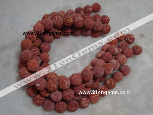 CCB71 16 inches 16mm round sponge coral beads Wholesale