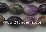 CCG101 15.5 inches 10*14mm oval charoite gemstone beads