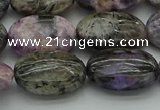 CCG104 15.5 inches 15*20mm oval charoite gemstone beads