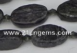 CCG128 15.5 inches 10*18mm oval charoite gemstone beads