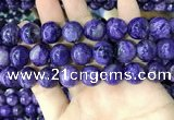 CCG146 15.5 inches 13mm round charoite gemstone beads