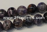CCG28 15.5 inches 12mm round natural charoite gemstone beads