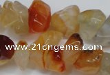 CCH305 34 inches 8*12mm red agate chips gemstone beads wholesale