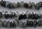 CCH663 15.5 inches 4*6mm - 5*8mm moss agate chips beads