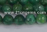 CCJ412 15.5 inches 8mm faceted round west African jade beads