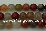 CCJ451 15.5 inches 6mm round colorful jasper beads wholesale