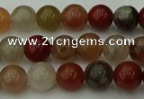 CCJ452 15.5 inches 8mm round colorful jasper beads wholesale
