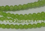 CCN11 15.5 inches 4mm round candy jade beads wholesale