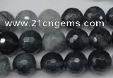 CCN1265 15.5 inches 12mm faceted round candy jade beads wholesale
