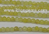 CCN1321 15.5 inches 4mm faceted round candy jade beads wholesale