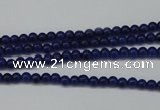 CCN1337 15.5 inches 3mm round candy jade beads wholesale