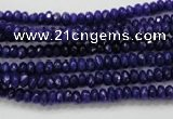 CCN1381 15.5 inches 2*4mm faceted rondelle candy jade beads