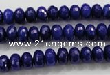 CCN1383 15.5 inches 5*8mm faceted rondelle candy jade beads