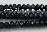 CCN1433 15.5 inches 5*8mm faceted rondelle candy jade beads