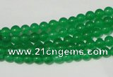 CCN16 15.5 inches 4mm round candy jade beads wholesale