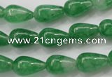CCN1660 15.5 inches 9*14mm teardrop candy jade beads wholesale