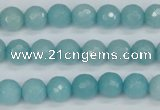 CCN1862 15 inches 8mm faceted round candy jade beads wholesale