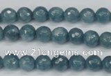 CCN1912 15 inches 8mm faceted round candy jade beads wholesale