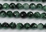 CCN1941 15 inches 6mm faceted round candy jade beads wholesale