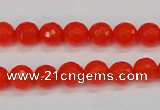CCN1952 15 inches 8mm faceted round candy jade beads wholesale