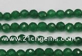 CCN1970 15 inches 4mm faceted round candy jade beads wholesale